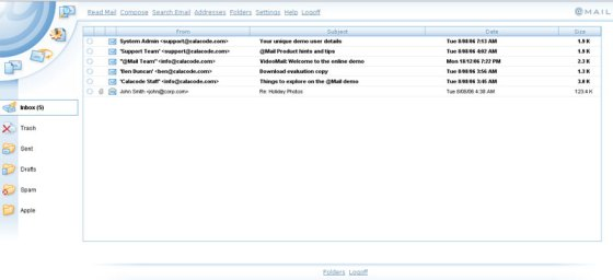 @Mail Open Source WebMail Client